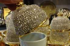 Bejeweled Cup Covers