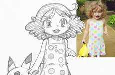 Anime Portrait Sketches