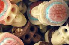 Spooky Chocolate Skulls
