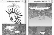 Comic Strip Chat Apps