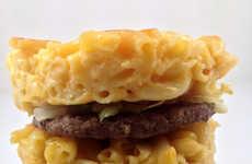 Towering Macaroni Burgers