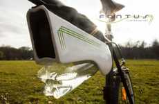 Solar-Powered Water Bottles