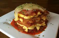 Cheesy Bacon Lasagna