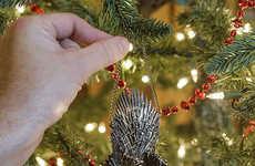 Throne-Themed Tree Ornaments