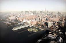 Futuristic Pier Parks