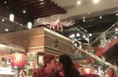 Christmas Kissing Drones