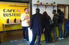 Entertaining Pop-Up Cafes