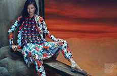 Patterned Couture Editorials