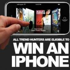 Win an Apple iPhone at TrendHunter.com
