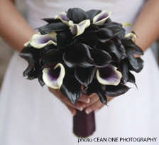 Gothic Wedding Bouquets