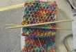 Chopstick Knitting