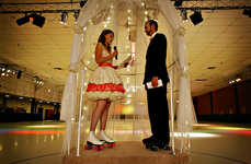 Roller Rink Weddings