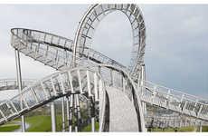 Rollercoaster Sculptures