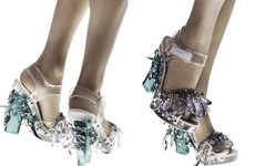 Crystal-Encrusted Heels