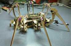 DIY Spider Robots