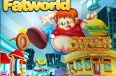 FatWorld Video Game Simulates Getting Fat