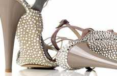Glitterized Shoe Soles