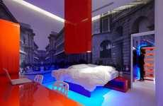 Neon Block Rooms