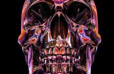 Chromatic Skull Art