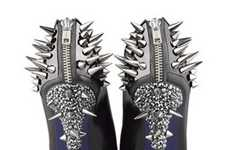 Studded Platform Pumps