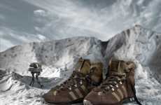 Mammoth-Inspired Footwear