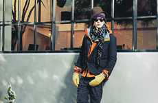 Layered Hipster Fashions