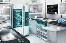 Futuristic Kitchenettes