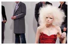Hot Blonde Afros