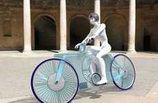 Wind-Powered Bikes