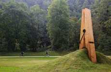 Pinching Pasture Sculptures
