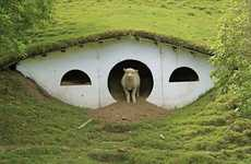 Hobbit Hole Livestock Lodgings