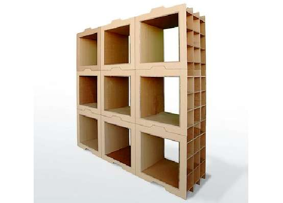 Sustainable Stackable Shelves
