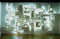 Sci-Fi Styrofoam Sculptures