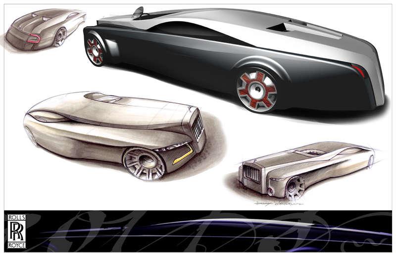 Rolls Royce Renderings