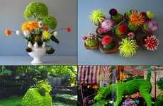 Delicate Floral Installs