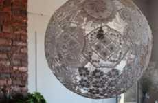DIY Latticework Lighting