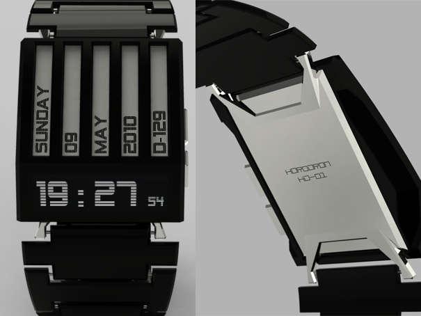 E-Ink Timepieces